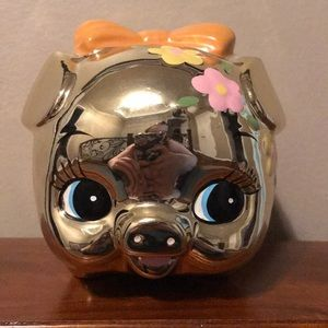 Other - Children's gold piggy bank